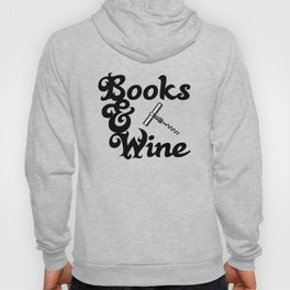 Books & Wine Hoody