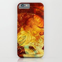 She's Fire iPhone Case