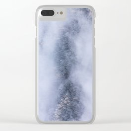 Beneath The Fog Clear iPhone Case