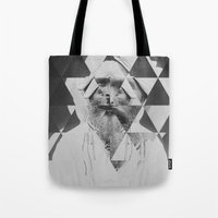 kaleidoscope Tote Bags featuring Kaleidoscope by Mrs Araneae