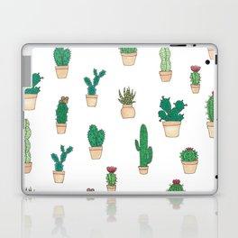 Cacti and Succulent Garden Pattern Laptop & iPad Skin