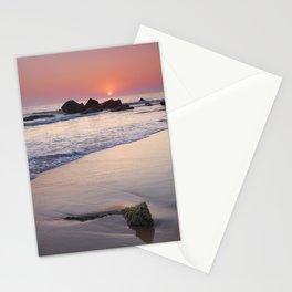 Encendida Beach At Sunset. Sancti Petri. Stationery Cards