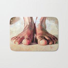 Pensando con los pies Bath Mat