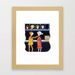 Projection Framed Art Print