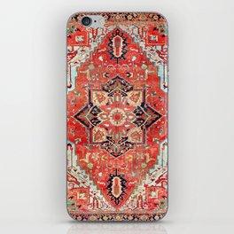 Heriz Azerbaijan Northwest Persian Rug Print iPhone Skin