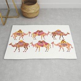 Camel Train Rug
