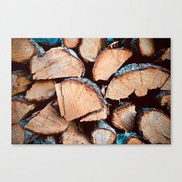 Woo-d Warm Canvas Print