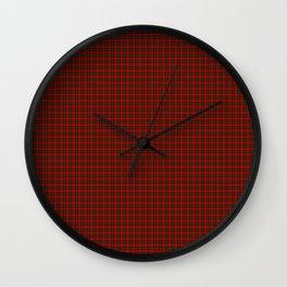 MacDuff Tartan Wall Clock