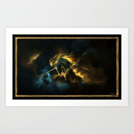 The Nebula Art Print