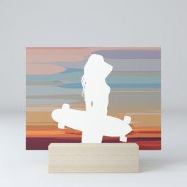 Summer Skate Mini Art Print