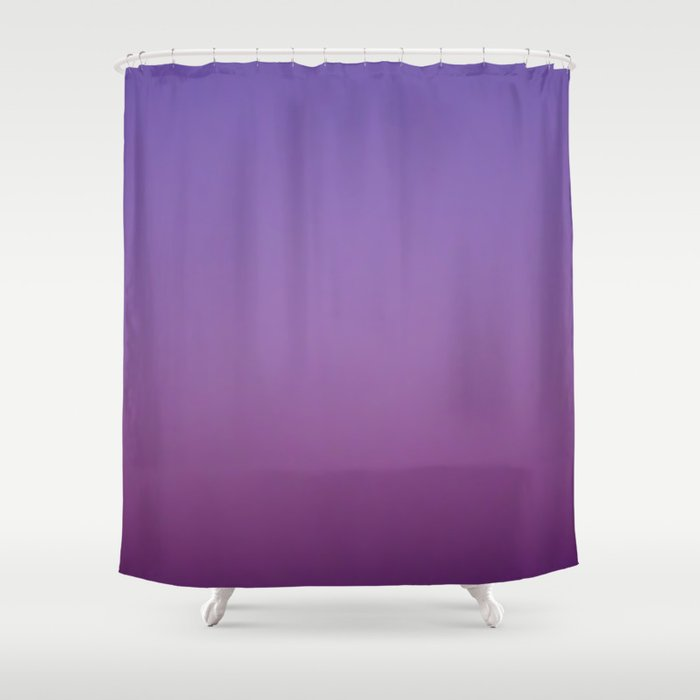 Gloaming Gradient II Shower Curtain