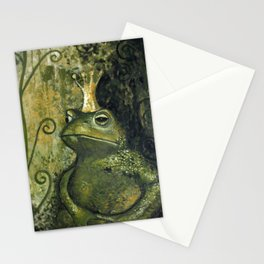 The FROG KING Stationery Cards