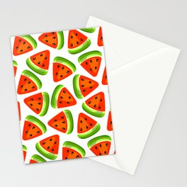 Watermelon seamless pattern Stationery Cards