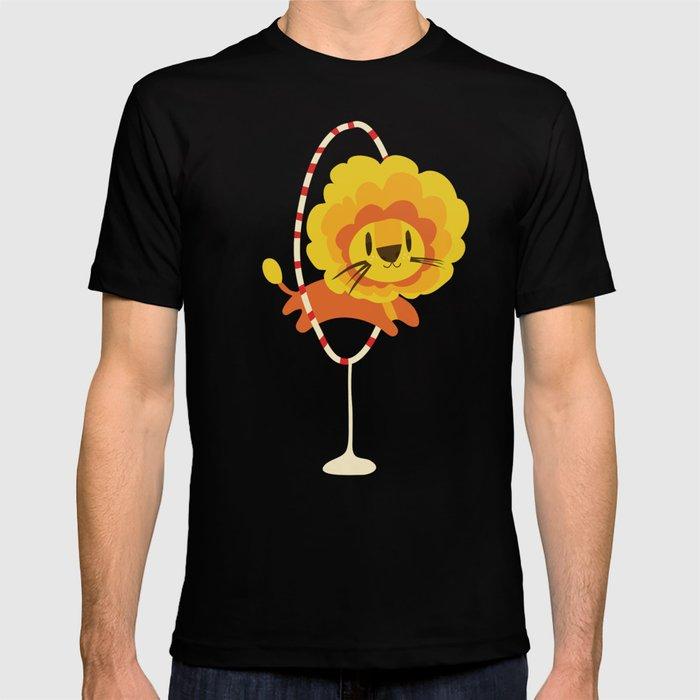 Lion hopped through a loop T-shirt