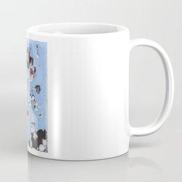 Mice eat a Kandinsky Coffee Mug