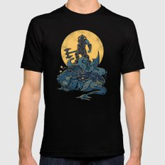 The Dragon Slayer LARGE Mens Fitted Tee Black
