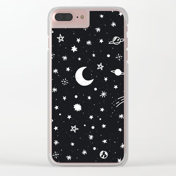Cosmic Clear iPhone Case