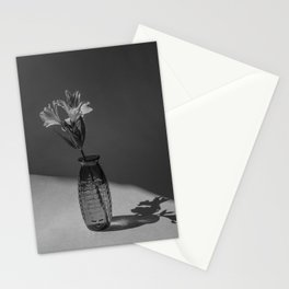 Shadow and flower Stationery Cards