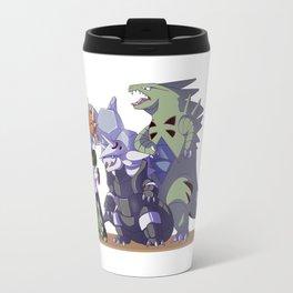 Pokémon trainer and team Travel Mug