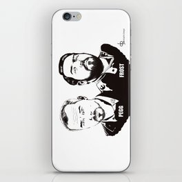 Simon Pegg & Nick Frost iPhone Skin