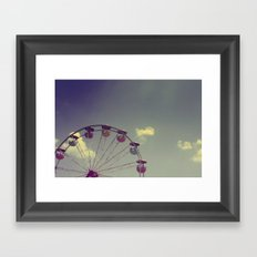 Half Wheel Framed Art Print