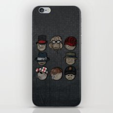You like hats? I'm mad about hats! iPhone & iPod Skin