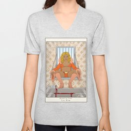 Queen of Cups - Lil Kim Unisex V-Neck
