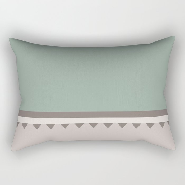 Jagged 5 Rectangular Pillow