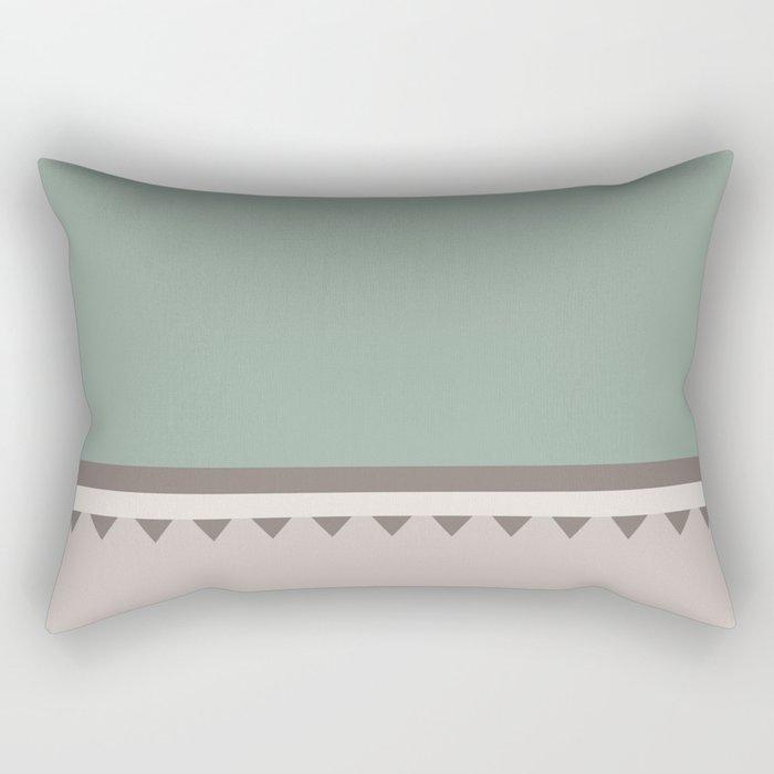 Jagged 5 Rectangular Pillow