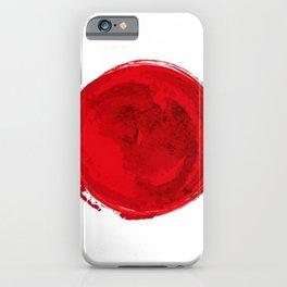 Japan Watercolor iPhone Case