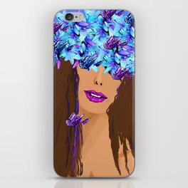 WOMAN I KNOW WHO I AM iPhone Skin