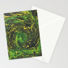 Abstract Marble Painting Stationery Cards