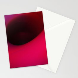 Black hole in pink Stationery Cards