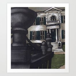 The Burrows' Estate Art Print
