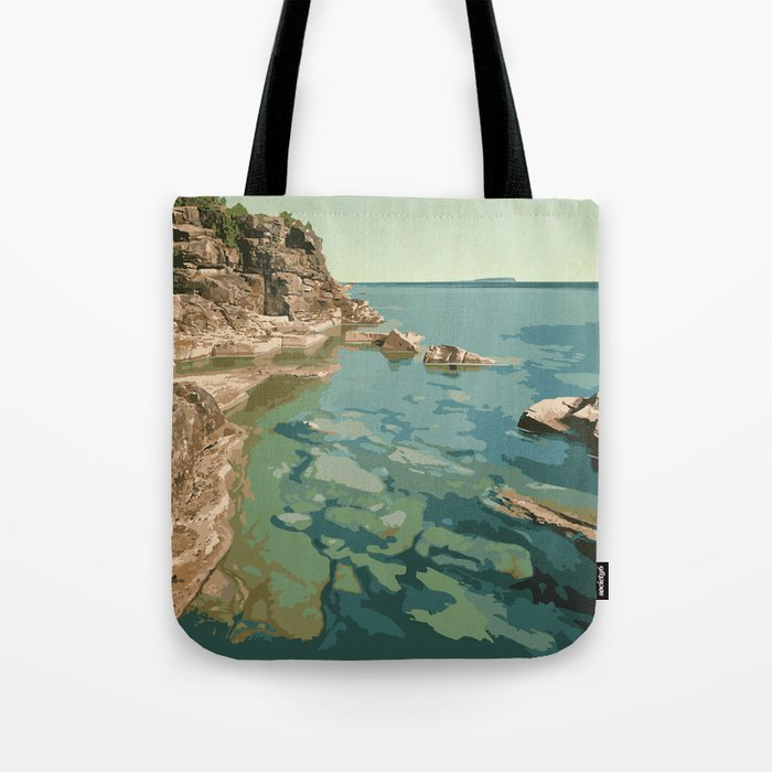 Bruce Peninsula National Park Tote Bag