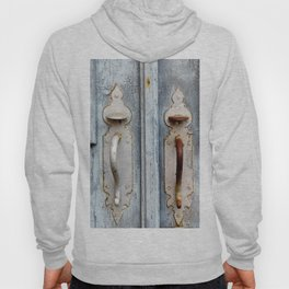 Antique blue door Hoody