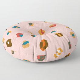 Rainbow Cheetah print Floor Pillow