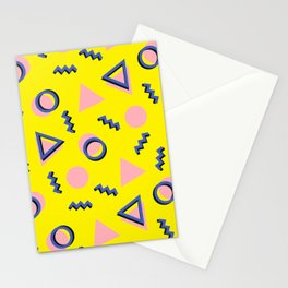 Memphis pattern 62 Stationery Cards