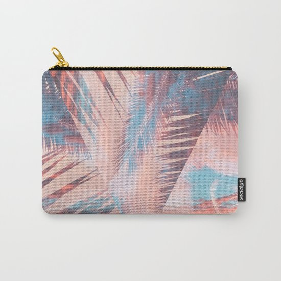Vibrant Palm Carry-All Pouch