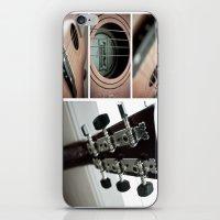 guitar iPhone & iPod Skins featuring Guitar by TJAguilar Photos