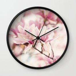 Japanese Magnolia II Wall Clock