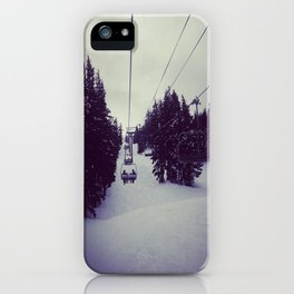 Mt. Bachelor  iPhone Case