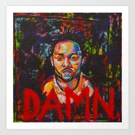 DAMN, Kendrick Lamar Art Print