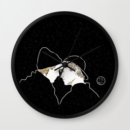 In another Universe Wall Clock