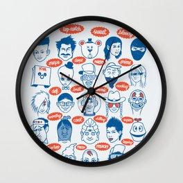 my buddies Wall Clock
