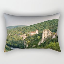 French Countryside Views Rectangular Pillow
