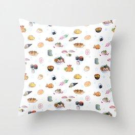 Itadakimasu ! Throw Pillow