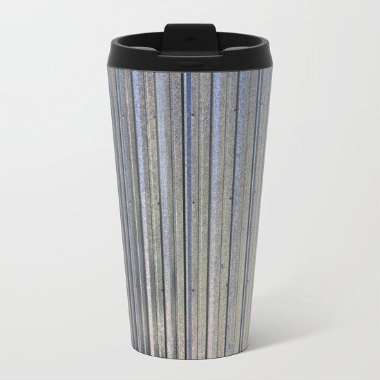 Aluminum Siding Metal Travel Mug