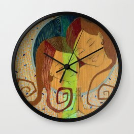 Gemini, The Twins Wall Clock