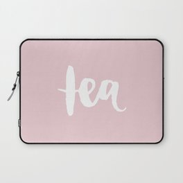 Pink Tea Laptop Sleeve